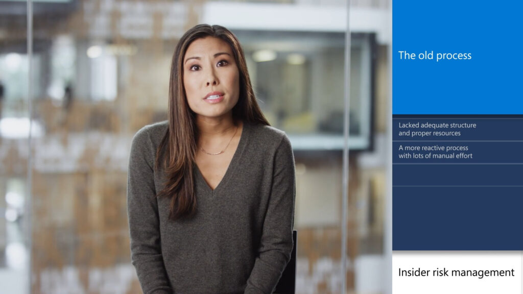 Microsoft – Insider Risk Management Excerpt