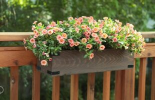INSPO: The Handyman's Daughter - Deck Railing Planters