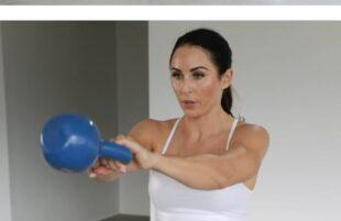 INSPO: PaleOMG - Advanced Full Body Kettle Bell Workout - 10 Sec Promo