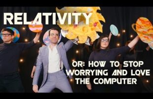 Jesse Mercury - Relativity (or: How to Stop Worrying and Love the Computer)